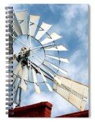 The Wind Wheel Spiral Notebook