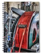 The Winding Engine Spiral Notebook