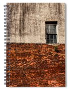 The Window Above Spiral Notebook