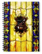 The Window At The Clark Chateau Spiral Notebook