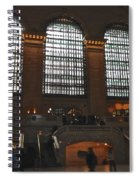 The Windows At Grand Central Terminal Spiral Notebook