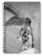 The Winged Victory Spiral Notebook