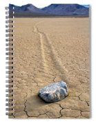 The Winner Death Valley Moving Rock Spiral Notebook