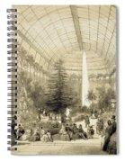 The Winter Garden Spiral Notebook