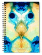 The Wise Ones - Visionary Art By Sharon Cummings Spiral Notebook