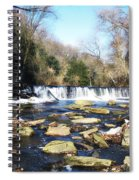 The Wissahickon Creek In February Spiral Notebook