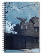 The Witch House In Infrared Spiral Notebook