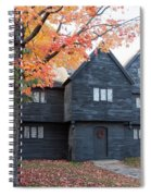 The Witch House Of Salem Spiral Notebook