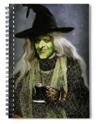 The Witch Of Endor As A Cavalier Spiral Notebook