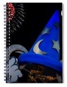The Wizard Walt Disney World Spiral Notebook