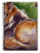 The Wolf Star Spiral Notebook