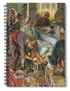 The Woman With The Box Of Ointment Spiral Notebook