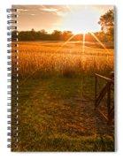 The Wood Cutter Buzz Saw Spiral Notebook
