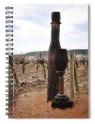 The Wooden Cork Spiral Notebook