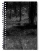The Woods Are Lovely Dark And Deep Spiral Notebook
