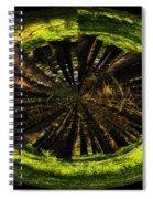 The Woods Polar View Spiral Notebook