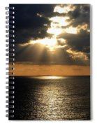 Key West Sunset The Word Spiral Notebook