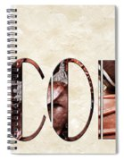The Word Is Chocolate Spiral Notebook