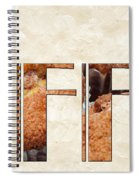The Word Is Muffins Spiral Notebook