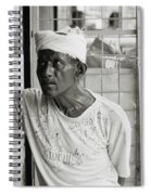 The Worker In Cochin Spiral Notebook