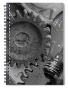 The Working Man Spiral Notebook