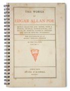 The Works Of Edgar Allan Poe Spiral Notebook