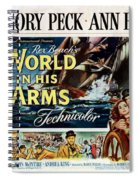 The World In His Arms 1952 Spiral Notebook