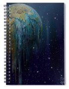 The World Is Melting Spiral Notebook