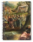 The Worship Of The Golden Calf Spiral Notebook