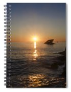 The Wreck Of The Atlantus - Cape May New Jersey Spiral Notebook
