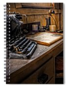The Writer's Desk Spiral Notebook