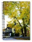 The Yardley Inn In Autumn Spiral Notebook