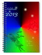 The Year Of The Snake Spiral Notebook