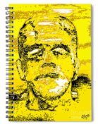 The Yellow Monster Spiral Notebook