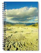 The Yellow Rock Of Yellowstone Spiral Notebook