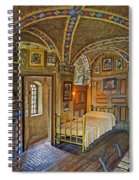 The Yellow Room At Fonthill Castle Spiral Notebook