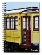The Yellow Trolley Car Spiral Notebook