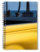 The Yellow Truck Spiral Notebook