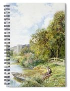 The Young Angler Spiral Notebook