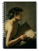 The Young Poet Spiral Notebook