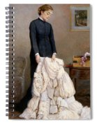 The Young Widow, 1877 Spiral Notebook