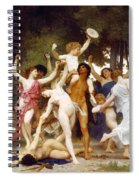 The Youth Of Bacchus Spiral Notebook