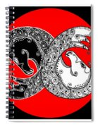 The Zen Of Horses Spiral Notebook