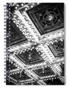 Theater Lights Spiral Notebook