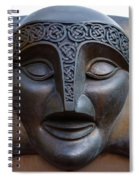 Theater Mask Spiral Notebook