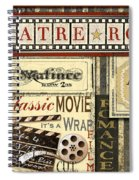 Theatre Room Spiral Notebook