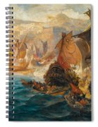 The Crusader Invasion Of Constantinople Spiral Notebook