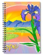 Themes Of The Heart-hope Spiral Notebook