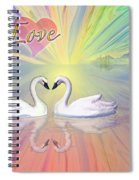 Themes Of The Heart-love Spiral Notebook