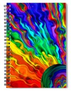 Then The Sky Exploded 6 Spiral Notebook